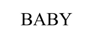 mark for BABY, trademark #85605342