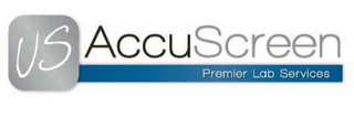 mark for US ACCUSCREEN PREMIER LAB SERVICES, trademark #85605515