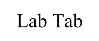 mark for LAB TAB, trademark #85605526