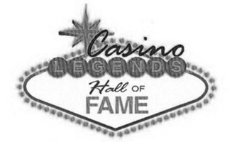 mark for CASINO LEGENDS HALL OF FAME, trademark #85605625
