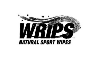 mark for WRIPS NATURAL SPORT WIPES, trademark #85605770