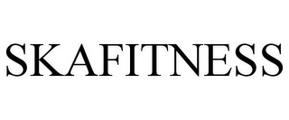 mark for SKAFITNESS, trademark #85606042