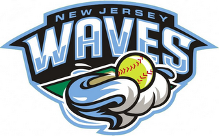 mark for NEW JERSEY WAVES, trademark #85606076