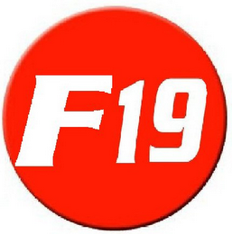 mark for F19, trademark #85606432