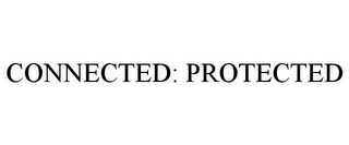 mark for CONNECTED: PROTECTED, trademark #85606436