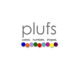 mark for PLUFS COLORS. NUMBERS. SHAPES., trademark #85606461