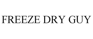 mark for FREEZE DRY GUY, trademark #85606627