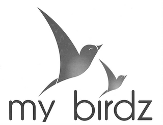 mark for MY BIRDZ, trademark #85606685