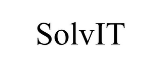mark for SOLVIT, trademark #85606697