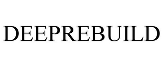 mark for DEEPREBUILD, trademark #85606924