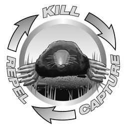 mark for KILL CAPTURE REPEL, trademark #85606941