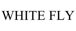 mark for WHITE FLY, trademark #85607093