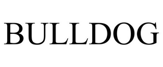 mark for BULLDOG, trademark #85607201