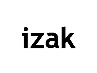 mark for IZAK, trademark #85607243
