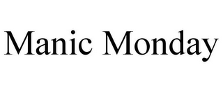 mark for MANIC MONDAY, trademark #85607267
