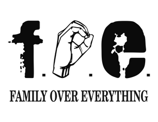 mark for F.O.E. FAMILY OVER EVERYTHING, trademark #85607304