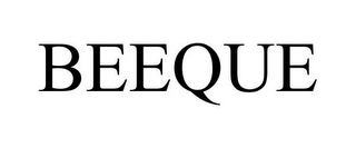 mark for BEEQUE, trademark #85607481