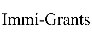 mark for IMMI-GRANTS, trademark #85607596