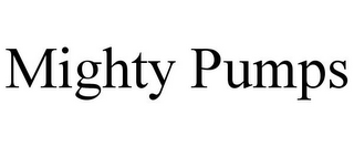 mark for MIGHTY PUMPS, trademark #85607618