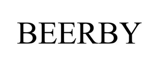 mark for BEERBY, trademark #85607763