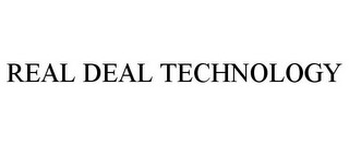 mark for REAL DEAL TECHNOLOGY, trademark #85607795