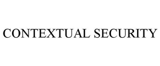mark for CONTEXTUAL SECURITY, trademark #85608162