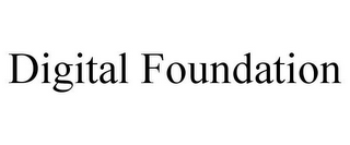 mark for DIGITAL FOUNDATION, trademark #85608192