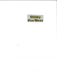 mark for UTILITY PRO WEAR, trademark #85608315