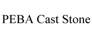 mark for PEBA CAST STONE, trademark #85608356