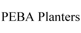 mark for PEBA PLANTERS, trademark #85608363