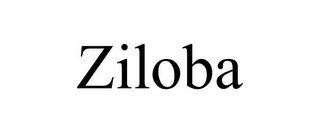 mark for ZILOBA, trademark #85608432