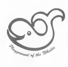 mark for PLAYGROUND OF THE WHALES, trademark #85608438