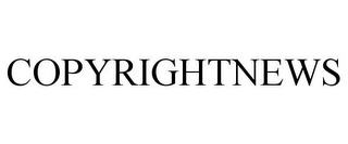mark for COPYRIGHTNEWS, trademark #85608461