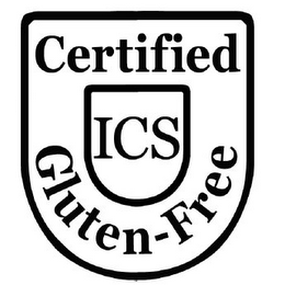 mark for CERTIFIED ICS GLUTEN-FREE, trademark #85608544