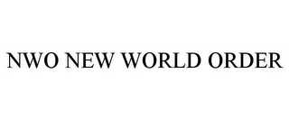 mark for NWO NEW WORLD ORDER, trademark #85608745