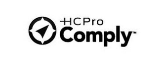 mark for HCPRO COMPLY, trademark #85608759