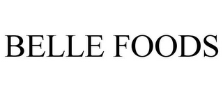 mark for BELLE FOODS, trademark #85608765