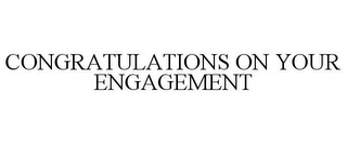 mark for CONGRATULATIONS ON YOUR ENGAGEMENT, trademark #85608952