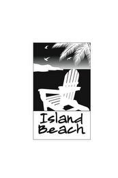 mark for ISLAND BEACH, trademark #85608969