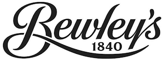 mark for BEWLEY'S 1840, trademark #85609090