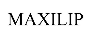 mark for MAXILIP, trademark #85609136