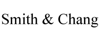 mark for SMITH & CHANG, trademark #85609159