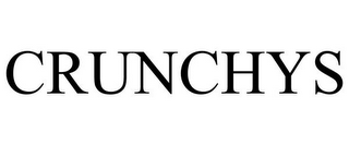 mark for CRUNCHYS, trademark #85609203