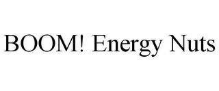 mark for BOOM! ENERGY NUTS, trademark #85609408