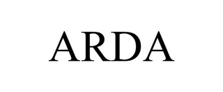 mark for ARDA, trademark #85609462
