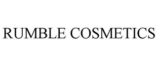 mark for RUMBLE COSMETICS, trademark #85609488