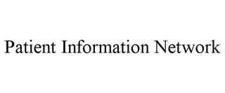 mark for PATIENT INFORMATION NETWORK, trademark #85609764