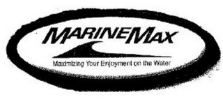 mark for MARINEMAX MAXIMIZING YOUR ENJOYMENT ON THE WATER, trademark #85609772