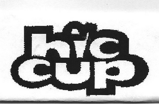 mark for HIC CUP, trademark #85609803