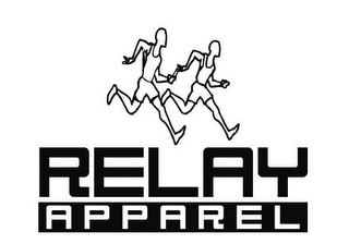 mark for RELAY APPAREL, trademark #85609854